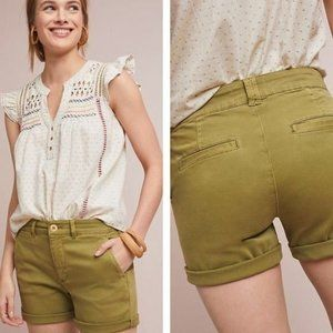 Anthropologie   NWT Relaxed Chino Shorts